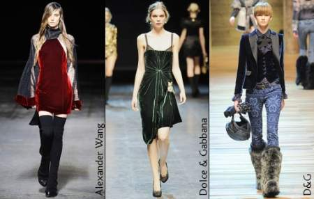 Тенденции моды: осень-зима 2010-2011 — Материалы