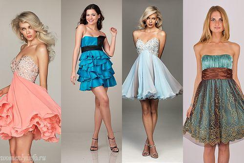 Платья к выпускному 2012