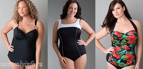 Полные женщины в купальниках, купальник для полных