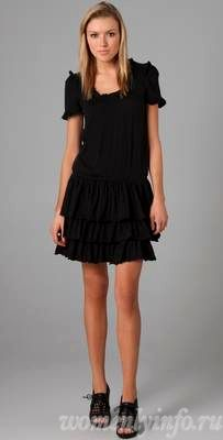 Маленькое черное платье фасоны