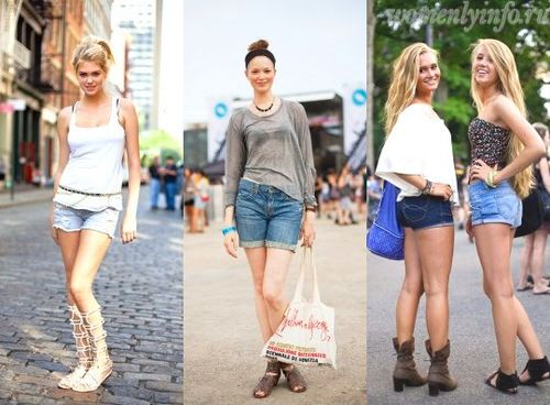 женские шорты 2012, шорты 2012 фото