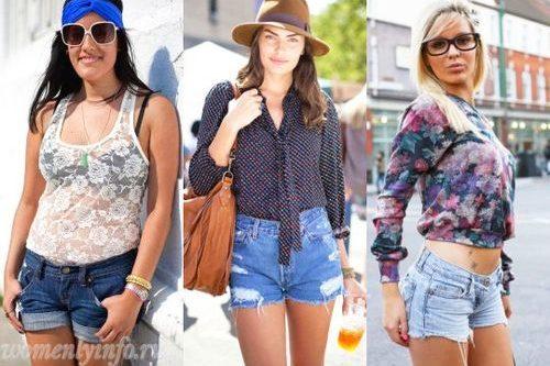 Женские шорты 2012, фото модных шорт для молодежи и подростков