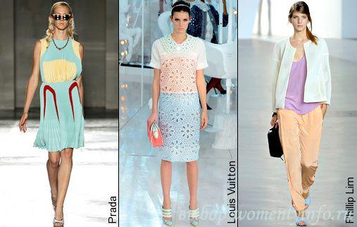 Что модно весной и летом 2012 года