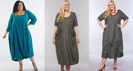 Платья для полных девушек, фото