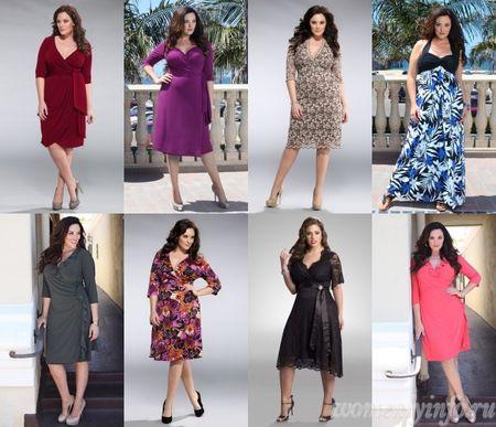 Платья для полных девушек фото