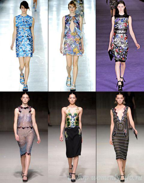 Мода 2012: платья от известных модельеров, фото