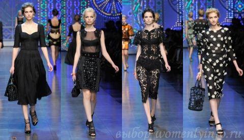 модные платья 2012 фото