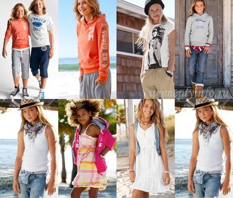 Одежда для подростков девочек: модные тенденции