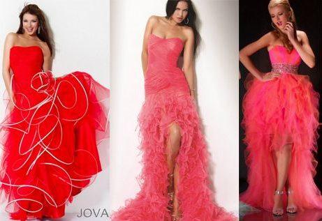 Платья на выпускной 2012, фото модных брендов