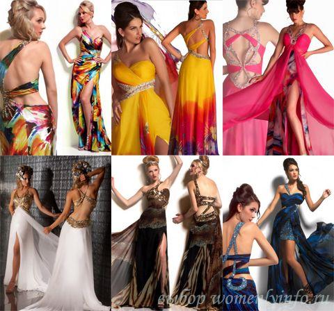 платья 2012 на выпускной