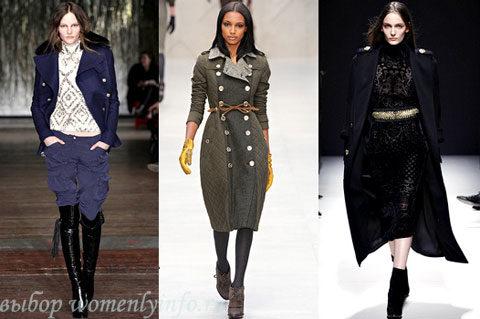 что модно носить осенью 2012