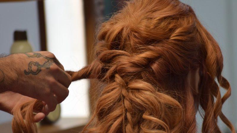 плетение косы примеры