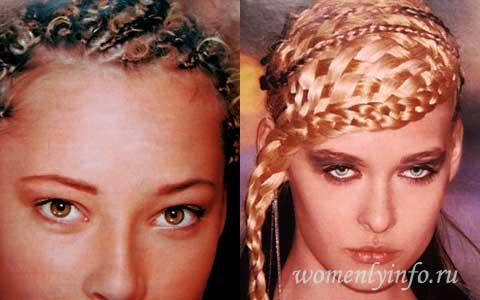 Плетение косы, фото, обучение на примерах