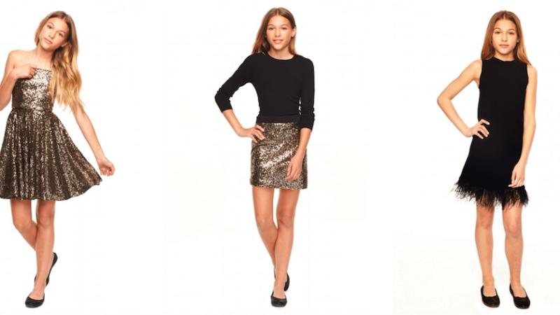 новогодние платья для подростков