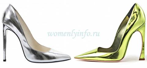 Модные туфли 2013, фото моделей