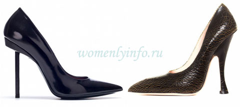 Модные туфли 2013, фото