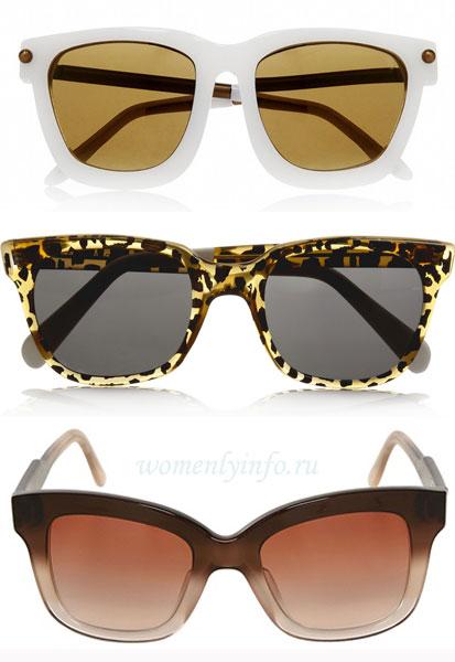 Солнцезащитные очки: мода 2013