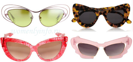 Солнцезащитные очки: мода 2013 года