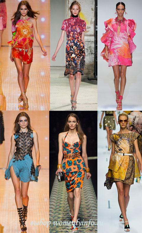 Модные платья 2013 фото