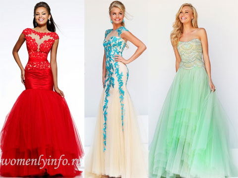 Выпускные платья 2014, фото новинок от американских дизайнеров