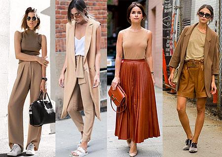 Нюдовый цвет в одежде: идеальная парижская мода